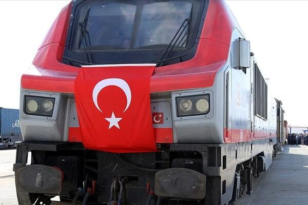First export train heads from Turkey to China