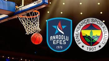 Anadolu Efes Fenerbahçe maçı ne zaman saat kaçta hangi kanalda Seride 5inci maç
